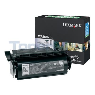 LEXMARK OPTRA T610 RP PRINT CARTRIDGE BLACK HY